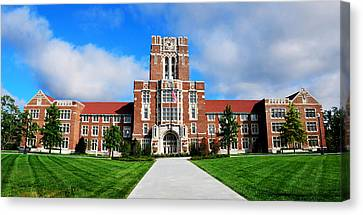 Ayres Hall Canvas Print by Paul Mashburn