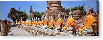 Ayutthaya Thailand Canvas Print by Panoramic Images
