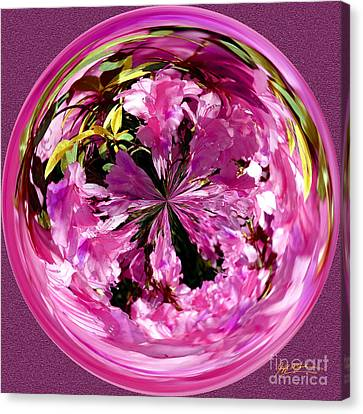 Azalea Orb IIi Canvas Print by Jeff McJunkin