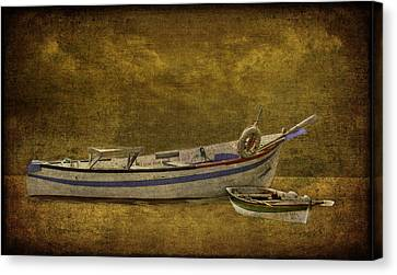 Azorean Fishing Boats Canvas Print