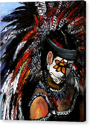 Aztec Celebration Canvas Print