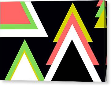 Aztec  Canvas Print by Chastity Hoff