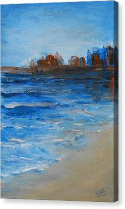 Azure Canvas Print by Jane  See