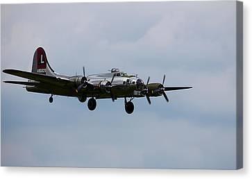 B-17 Yankee Lady Canvas Print