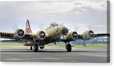 B-17g Canvas Print by Dan Myers