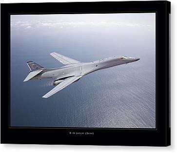 B-1b Lancer Canvas Print by Larry McManus