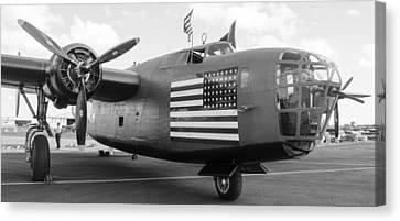 B-24 Liberator Canvas Print by Alan Marlowe