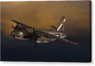 Dale Jackson Canvas Print - B-26 Marauder by Dale Jackson