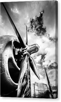 B 29 Superfortress Propellers  Canvas Print by Puget  Exposure