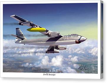 B-47e Stratojet Canvas Print by Mark Karvon