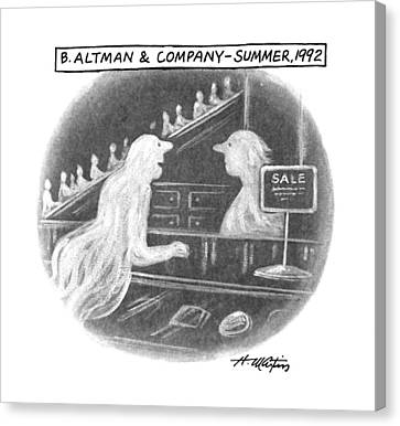 B. Altman & Company - Summer Canvas Print by Henry Martin
