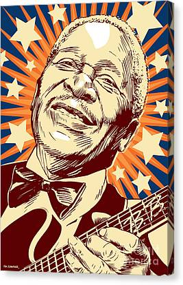 B. B. King Canvas Print