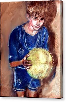 B-ball Canvas Print