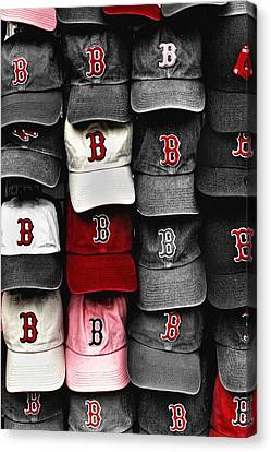 B For Bosox Canvas Print by Joann Vitali
