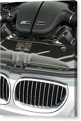 B M W M5 V10 Motor Canvas Print