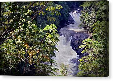 The Kwa Falls H Canvas Print