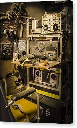 B26 Bomber Radioman Canvas Print by Bradley Clay