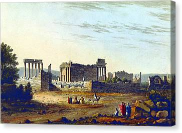 Baalbek Aka Heliopolis, 1835 Canvas Print by British Library