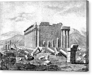 Baalbek Aka Heliopolis, 1845 Canvas Print by British Library