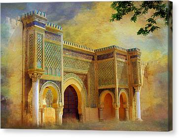 Bab Mansur Canvas Print by Catf