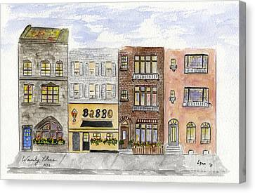 Babbo @ Waverly Place Canvas Print by AFineLyne