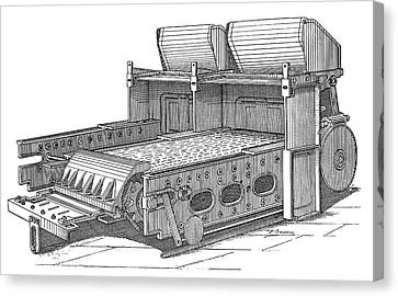 Babcock And Wilcox Boiler Canvas Print by Science Photo Library