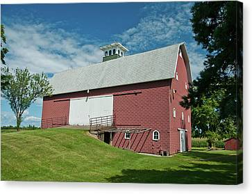 Canvas Print featuring the photograph Babcock Barn 2263 by Guy Whiteley