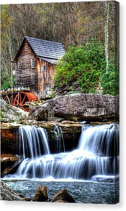 Babcock Grist Mill Canvas Print