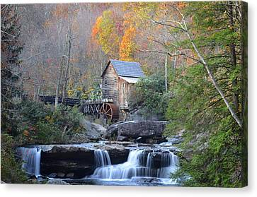 Babcock State Park Mill Canvas Print