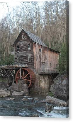 Old Feed Mills Canvas Print - Babcock Watermill by Dwight Cook