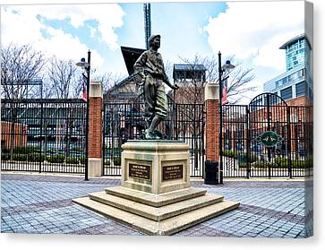 Babes Dream - Camden Yards Canvas Print by Bill Cannon