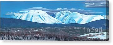 Babine Mountain Range Canvas Print