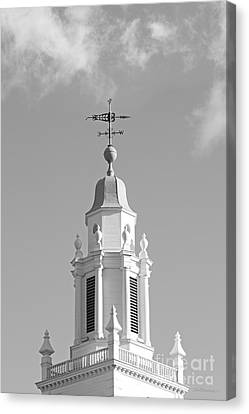 Babson College Tomasso Hall Cupola Canvas Print by University Icons