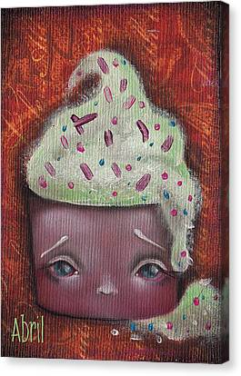 Baby Cakes II Canvas Print by Abril Andrade Griffith