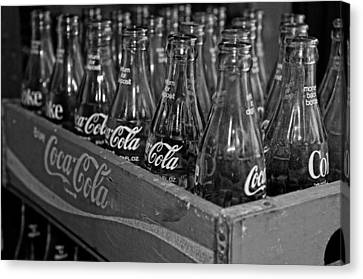 Baby Cokes Canvas Print by Andy Crawford
