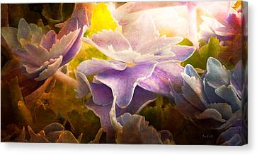 Baby Hydrangeas Canvas Print by Bob Orsillo