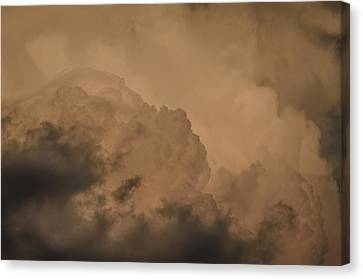 Baby In The Clouds Canvas Print by Bradley Clay