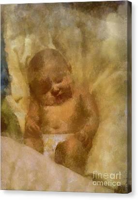 Baby Lexa Canvas Print by Yanni Theodorou