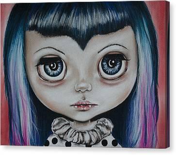 Baby Vamp Canvas Print by Bella  Harris