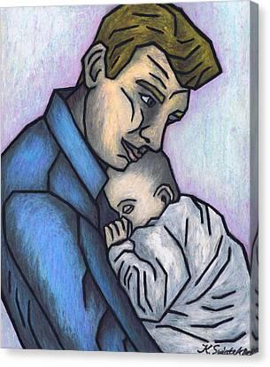 Baby's Lullaby Canvas Print by Kamil Swiatek
