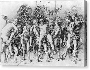 Centaur Canvas Print - Bacchanal With Silenus - Albrecht Durer by Daniel Hagerman