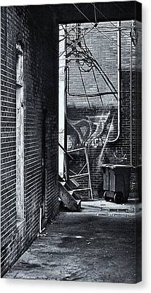 Canvas Print featuring the photograph Back Alley by Greg Jackson