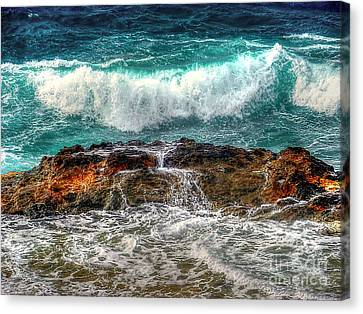 Back At Sea Canvas Print