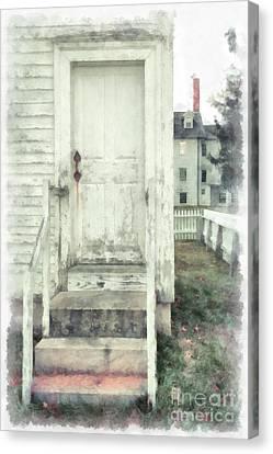 Back Door Canvas Print by Edward Fielding