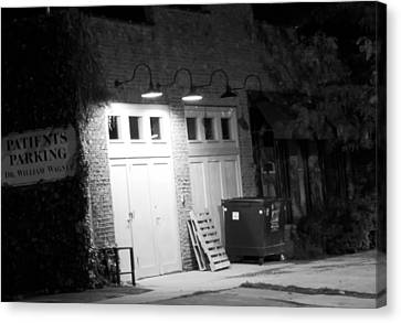 Back Entrance Canvas Print by Jim Finch