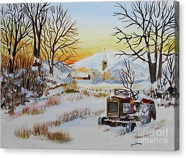 Jack Brauer Canvas Print - Back Forty by Jack G  Brauer