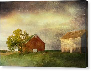 Back Home Again In Indiana Canvas Print by Regina  Williams