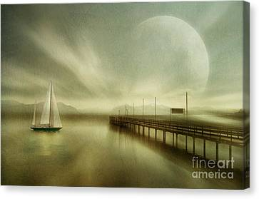 Back Home  Canvas Print by manhART