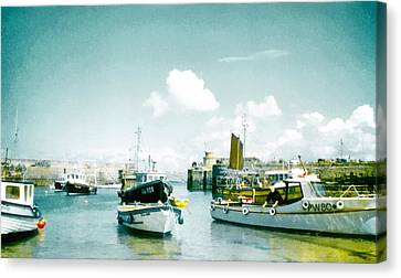 Back In The Olden Days Canvas Print by Steve Taylor