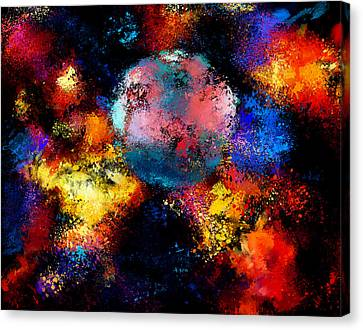 Back In The Universe Canvas Print